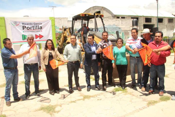 San Felipe Sultepec contara con una plazuela que mejorara la calidad de vida: alcalde