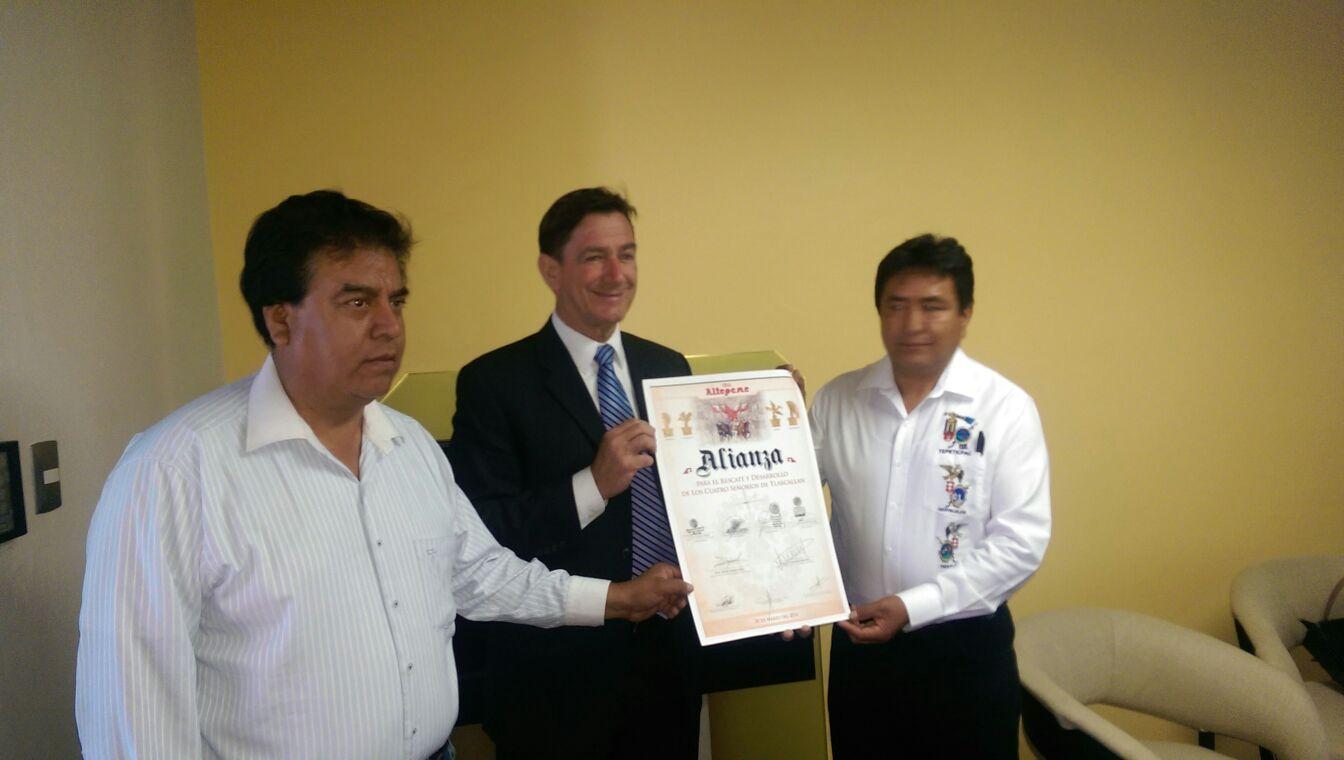 Gestiona alcalde de Totolac creación de parque infantil en Tepeticpac