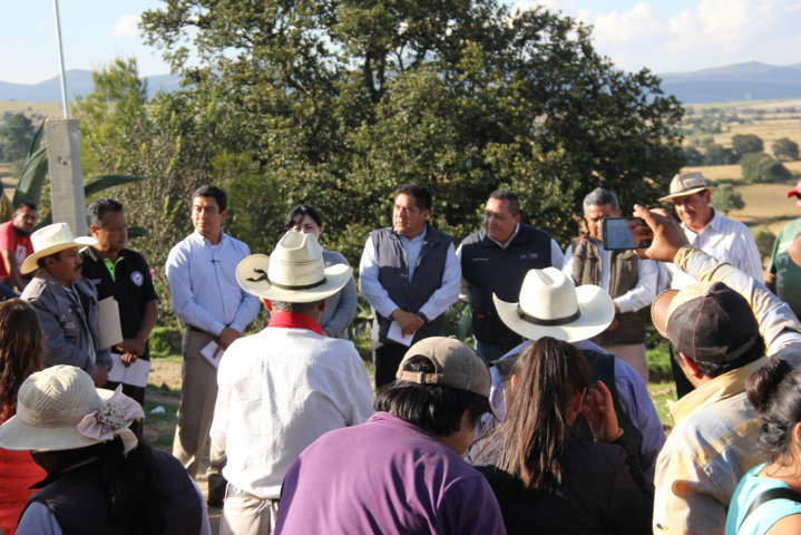 Rancherías de Calpulalpan cristalizan sueño de contar con energía eléctrica