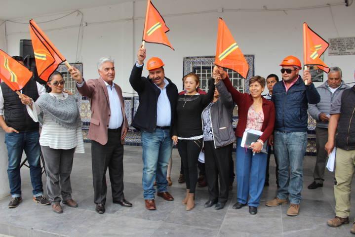 Arranca rehabilitación de la alcaldía con aportación de diputados federales del PRD
