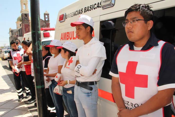 Ayuntamiento de Zacatelco se suma a la Colecta Mexicana de la Cruz Roja