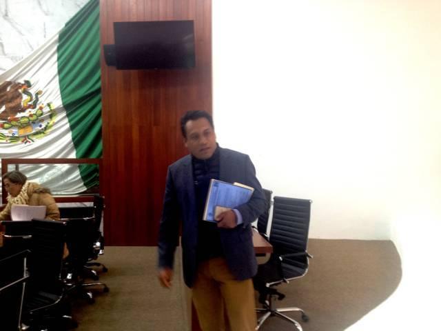 Confirma el SAGA que no le permitieron contender por el  Distrito 03 al Congreso de la Unión