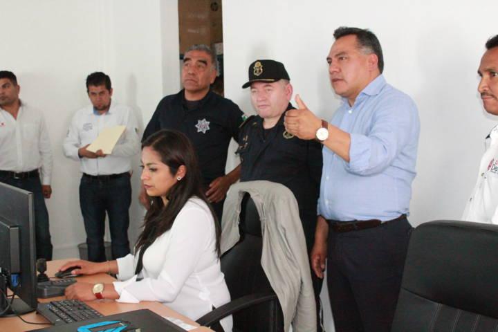 Se apertura en Tetla Centro de Comando y Control C2