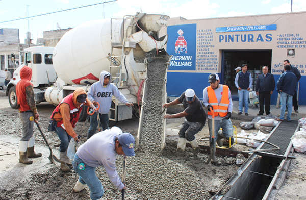 Supervisa Alcalde de Huamantla avance de obras