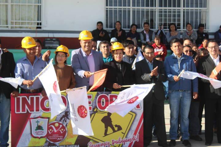 La primaria Justo Sierra contara con una techumbre: Sanabria Chávez