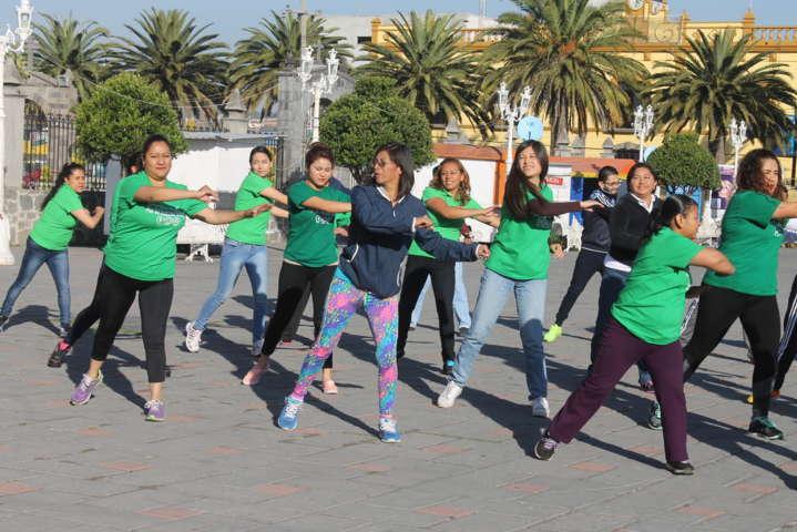 """Amaxac se suma a la primer """"Semana Estatal de la Cultura Física y el Deporte"""""""