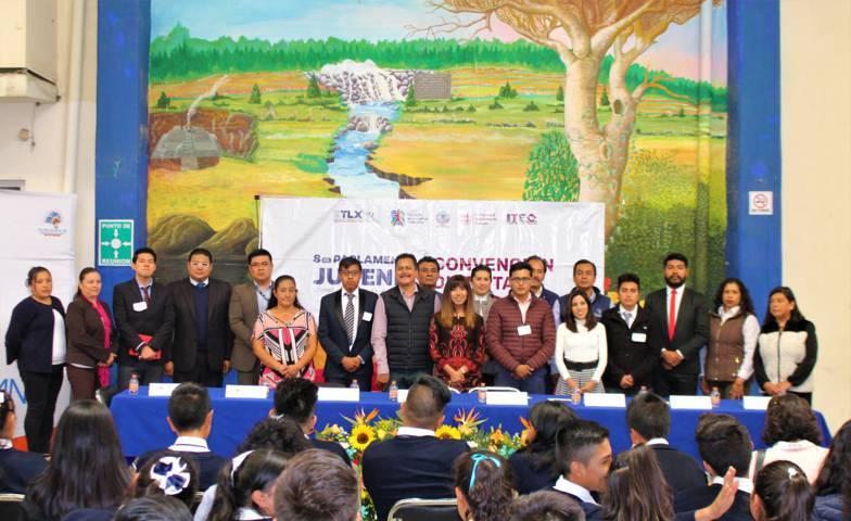 Dan a conocer la lista de los 25 participantes del Octavo Parlamento Juvenil