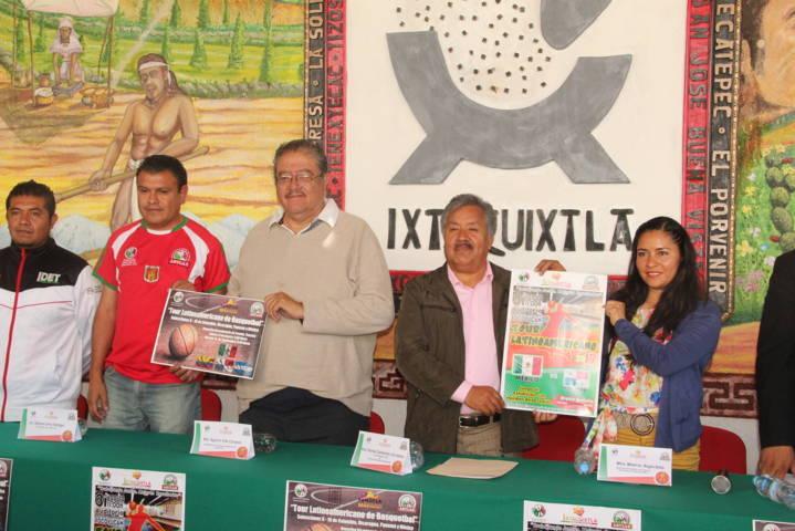 """Ixtacuixtla estará presente en el """"Tour Latinoamericano"""" de basquetbol 2017"""