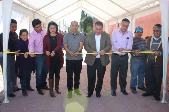 ERJ inicia obras de servicio básico y mejoramiento urbano en Tlatempan