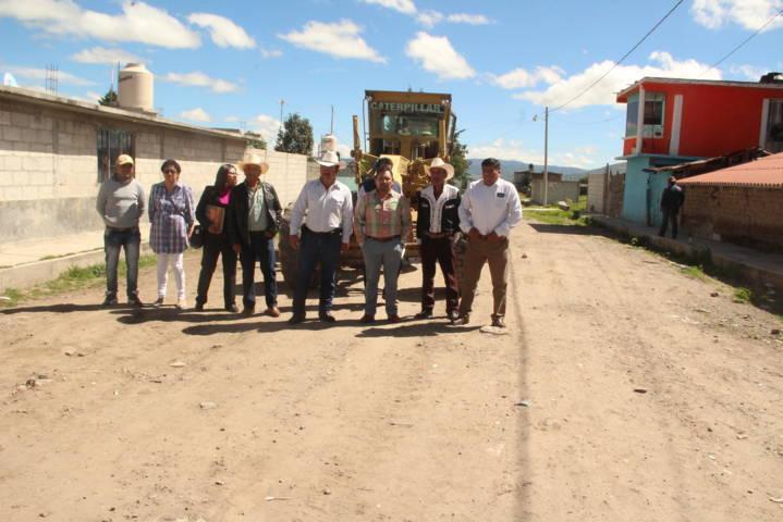 Alcalde mejora la infraestructura básica de la comunidad de Zaragoza