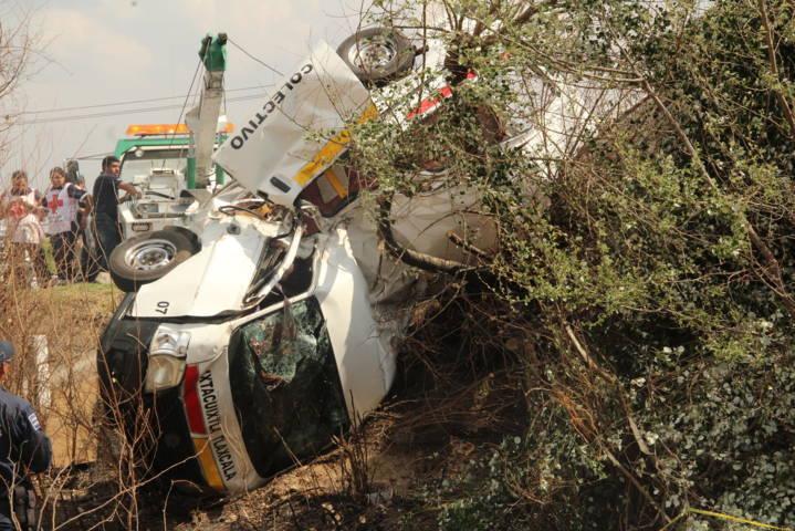 Ruta Ixtacuixtla-San Martin deja como saldo final 7 muertos y 6 heridos