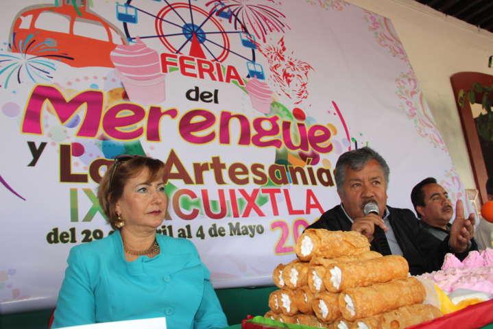 """Ayuntamiento e iglesia alistan feria del """"Merengue y las Artesanías 2017"""""""