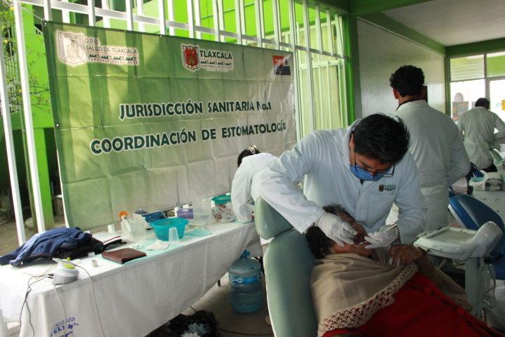 En Marcha la campaña de Salud Bucal en Xiloxoxtla