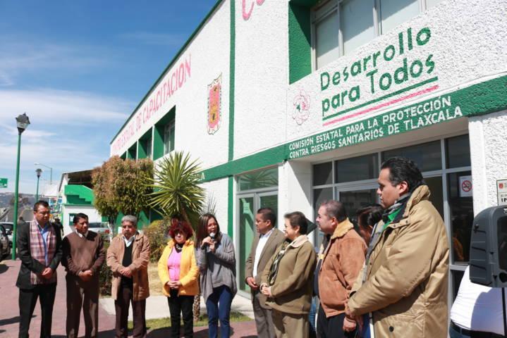 Realizan caravana de Protección de Datos Personales en Chiautempan