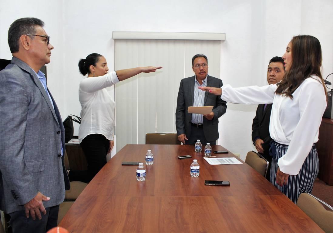 En INE Tlaxcala, rinden protesta al cargo vocales del RFE y de Organización Electoral