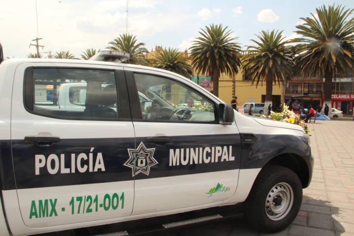 Seguridad pública de  Amaxac refuerza operativos de vigilancia