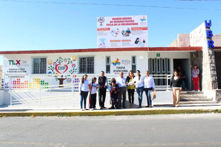 Se realizó remodelación de UBR en Tetla de la Solidaridad