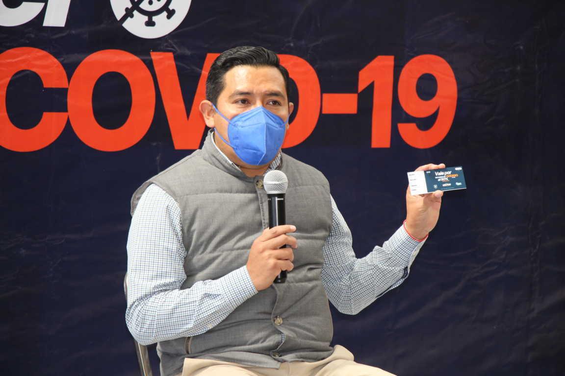 Apoyará Omar Milton con oxígeno y traslados de emergencia a  enfermos de Covid