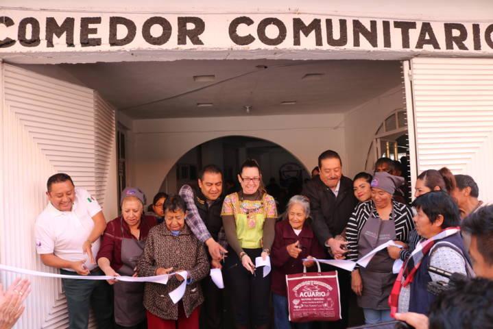 Ayuntamiento de Chiautempan y SEDESOL inauguran Comedor Comunitario
