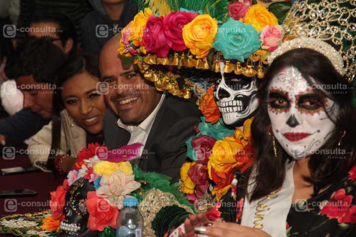 Alcalde impulsa las tradiciones de Día de Muertos en el 3er Festival Mitotl