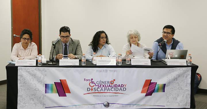 Inmujeres realiza foro: Género, Sexualidad y Discapacidad