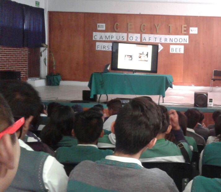 Alumnos del CECyTE 02 reciben pláticas de buenos hábitos alimenticios