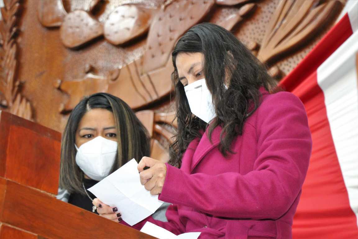 Presidirá Patricia Jaramillo la comisión permanente del Congreso Del Estado