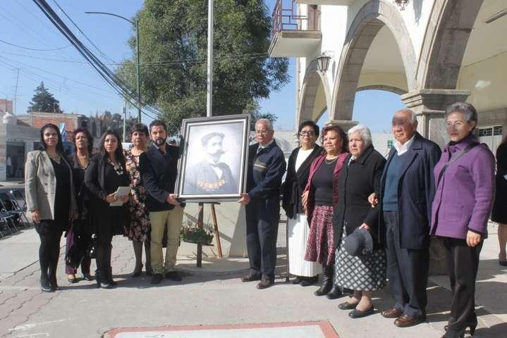 """Alcalde encabezó homenaje al Constituyente """"Antonio Hidalgo Sandoval"""""""
