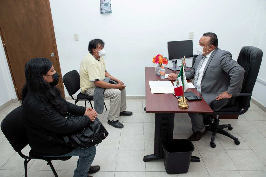Cumplen agencias de Calpulalpan y Tlaxco con acercar la justicia a las víctimas: PGJE