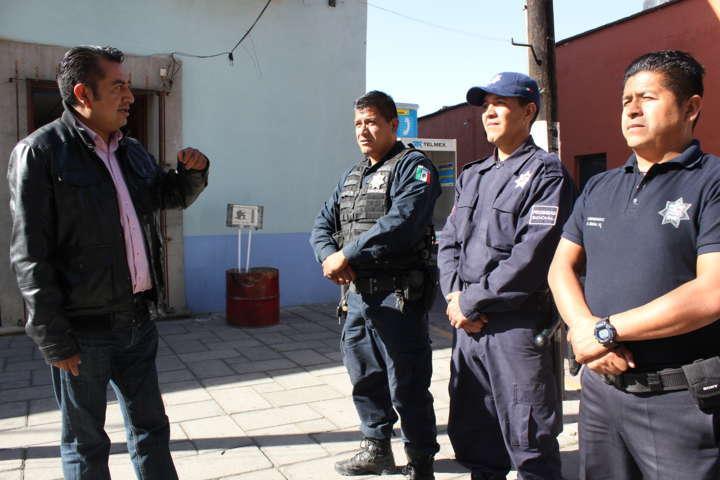 Fortalecerá Apetatitlán esquema de proximidad social y capacitación policial