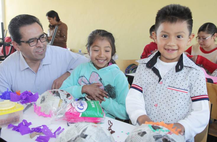 Destaca titular de SEPE, entre estudiantes de primaria, la importancia del reciclado