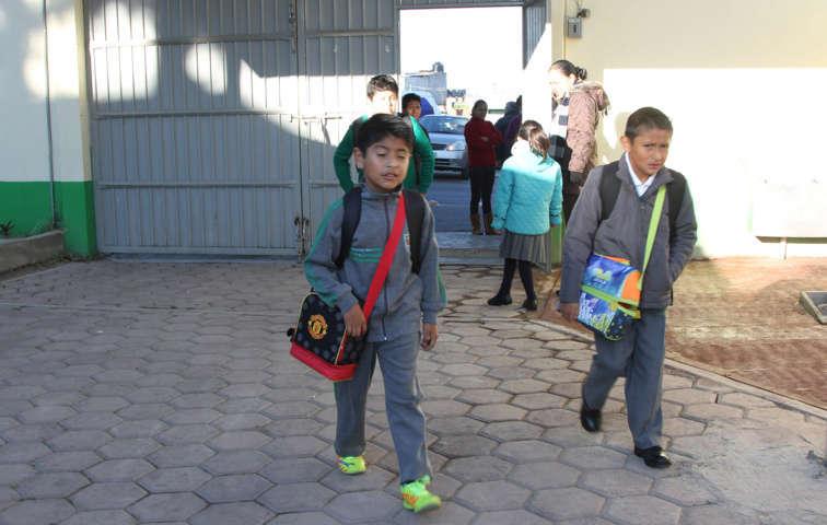 Concluye SEPE horario de invierno para alumnos de primaria