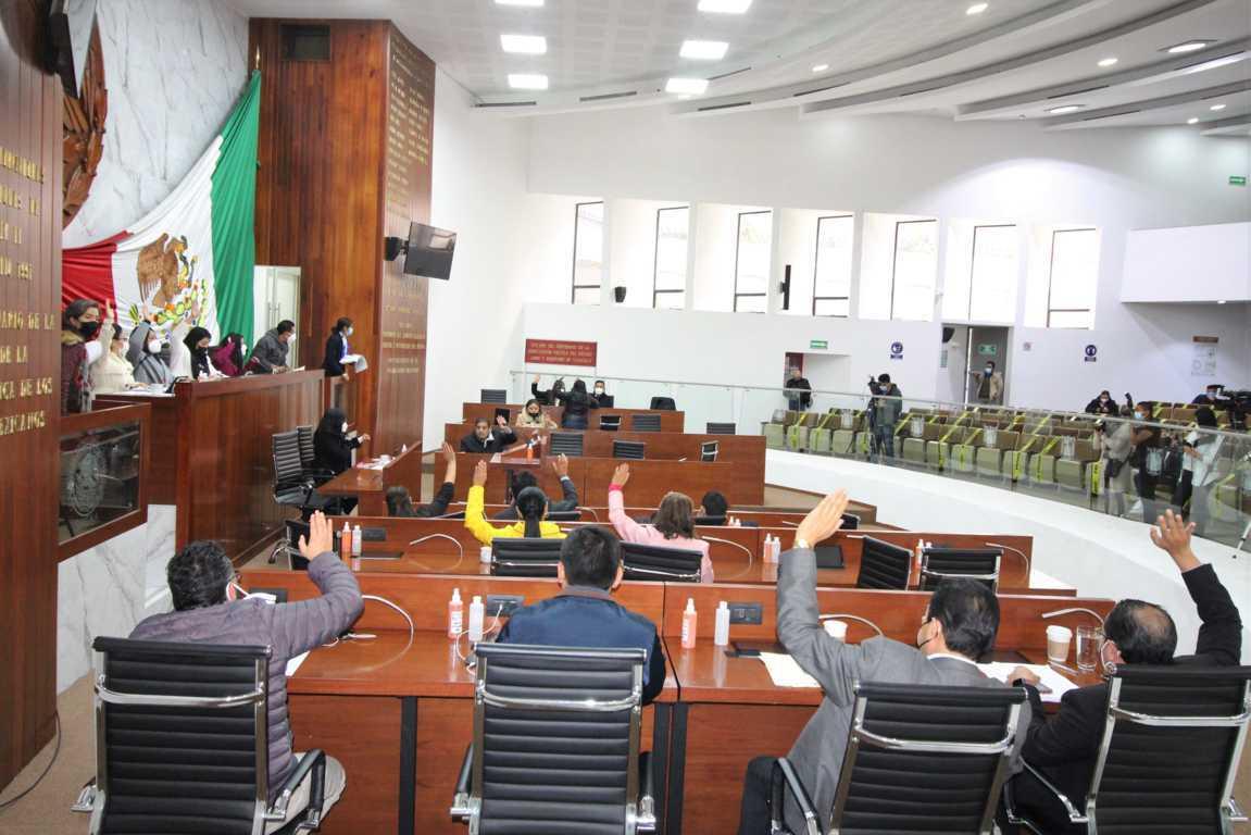 Aprueba Congreso de Tlaxcala 11 dictámenes de cuentas públicas