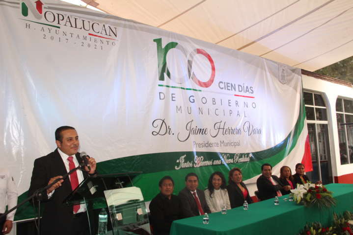 En Cien Días Nopalucan es un municipio estable, sólido y con rumbo: alcalde