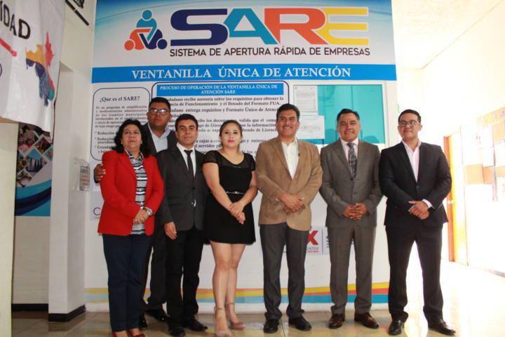 Aperturan módulo SARE en Tetla de la Solidaridad