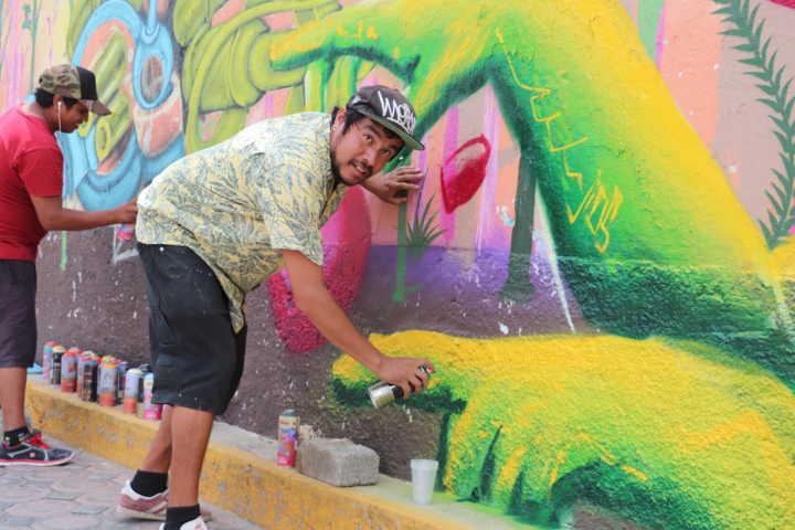 Ayuntamiento impulsa el Arte Urbano en jóvenes del municipio