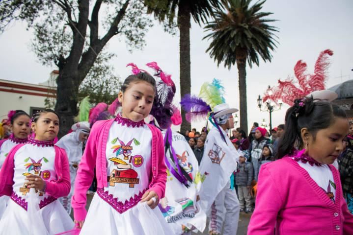 Con gran éxito se realizó el Desfile de Camadas en Chiautempan