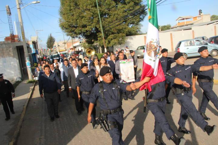 Con la fijación del Bando Solemne conmemoramos el inicio del mes patrio: alcalde
