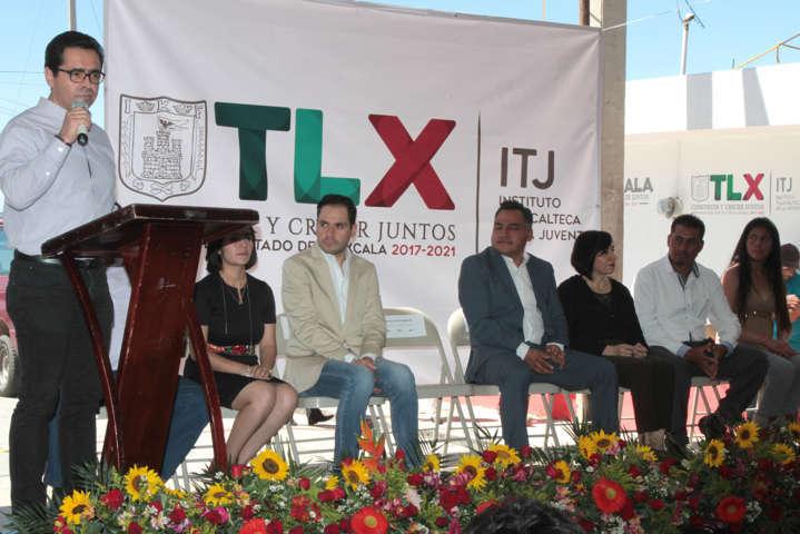 Inaugura Secretario de Educación el Centro de Desarrollo Juvenil número 40 en Tetla