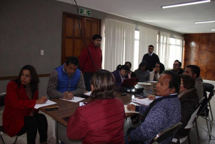 Se llevó a cabo la primera reunión con las unidades administrativas de Papalotla
