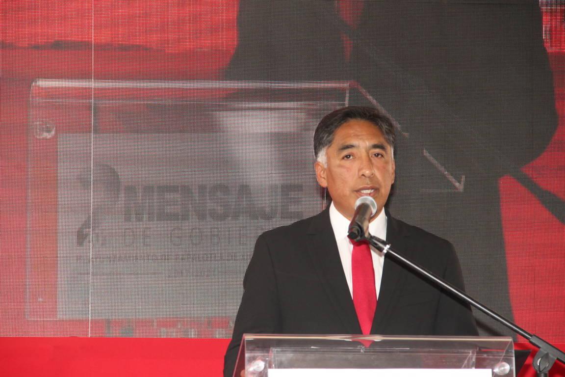 Somos un gobierno que avanzamos a través del desarrollo y trabajo: alcalde