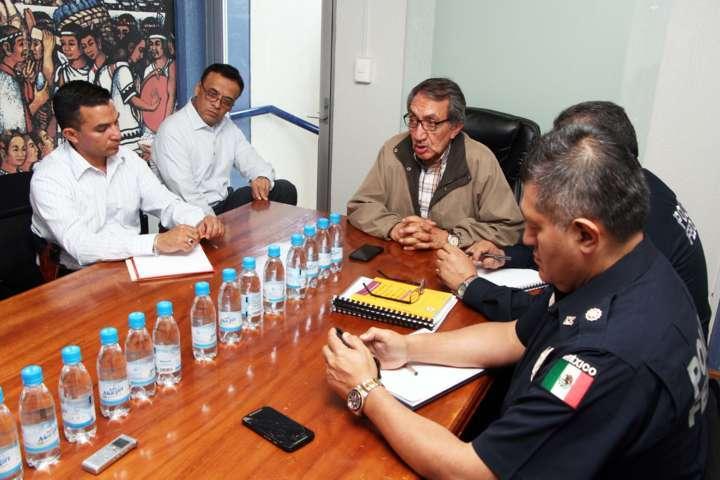 Fortalcecen PGJE y PF lazos de coordinación para el combate contra la delincuencia