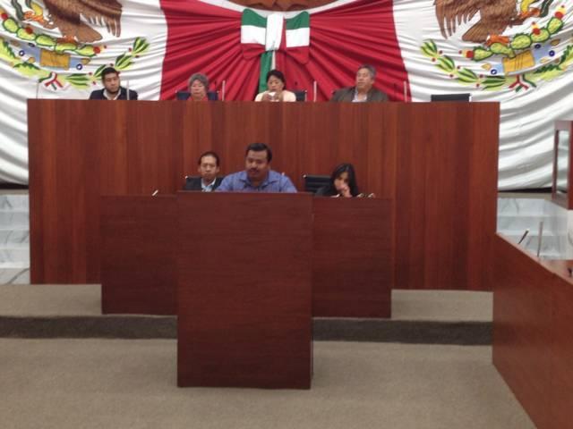 Diputado Jesús Portillo pide cesar a los integrantes del IAIP