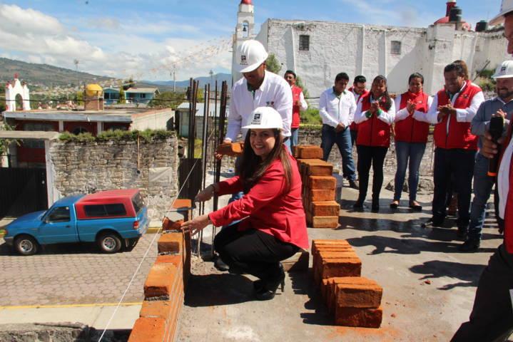 Arranca la construcción del segundo piso de la casa del pueblo