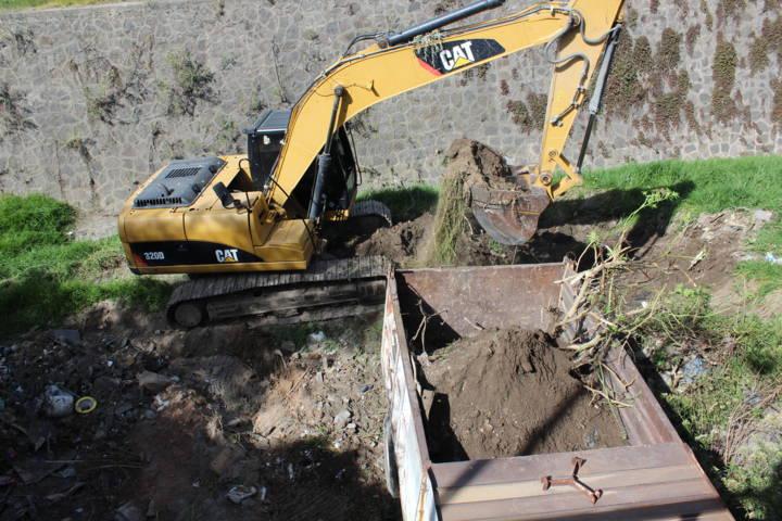 Con el desazolve del canal evitamos inundaciones en 4 comunidades: alcalde
