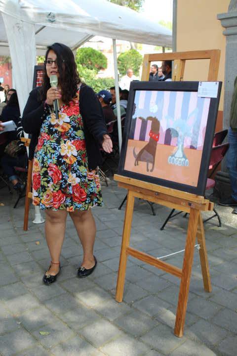 Ayuntamiento y alumnos de la UATx rifan 3 cuadros en apoyo de grupos vulnerables