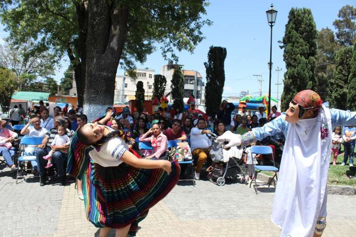 """Inauguran en Santa Cruz Tlaxcala actividades  """"Domingos Familiares y Culturales"""""""