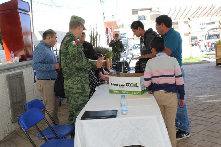 Con excelente participación se llevó a cabo el Sorteo Militar Nacional en Tepetitla