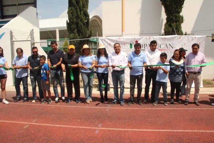 Mejorar la infraestructura deportiva es apostarle al desarrollo de los jóvenes: alcalde