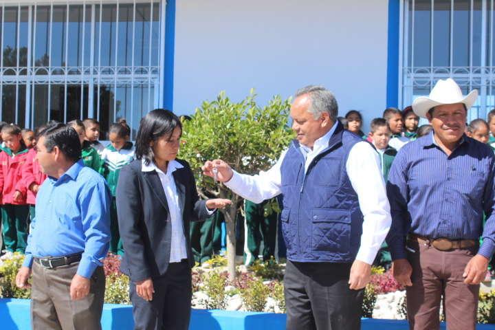 En menos de un mes suman 3 los comedores escolares entregados por el Ayuntamiento de Huamantla